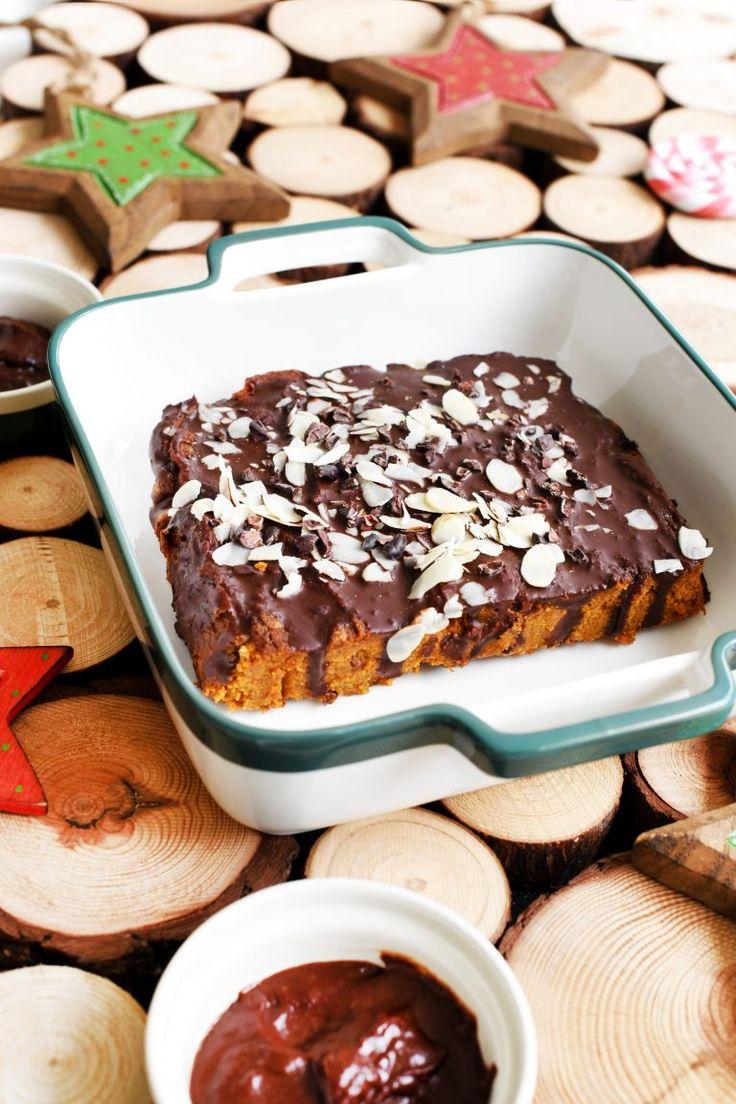 Świąteczne ciasto z batatów z pomarańczą i korzennymi przyprawami – Mój HIT!