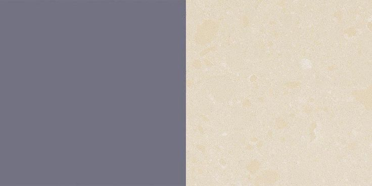 GET THE LOOK Cabinet colour: Taubmans 'Old Mill Blue' Material: Paint A muted greyish navy colour that isn't overpowering.