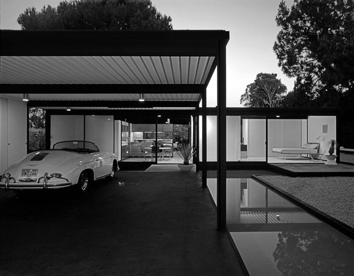 Case Study House        Charles Eames and Eero Saarinen for John Entenza