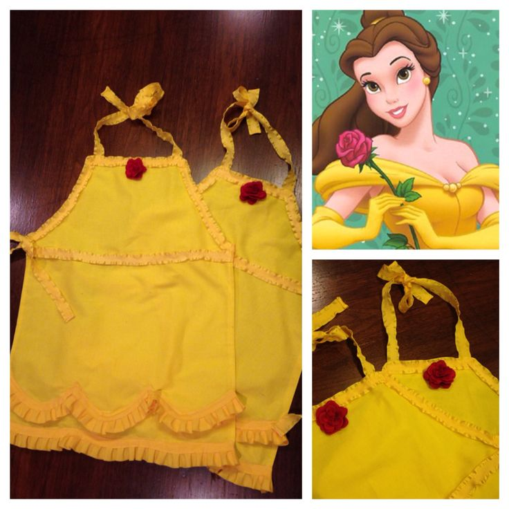 Belle Disney Princess Apron