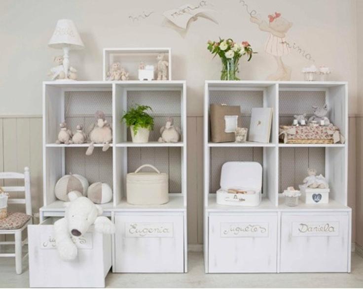 Muebles para guardar juguetes ideas dormitorio infantil pinterest - Estanterias guardar juguetes ...
