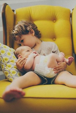 Great sibling pose for portraits. Love it. | Shop. Rent. Consign. MotherhoodCloset.com Maternity Consignment