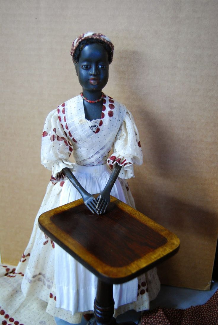 """""""Babes from the Woods"""" by Kathy Patterson: 14 1/2"""" Jenna, Hand Carved Fully Jointed Wooden Doll....................SOLD"""