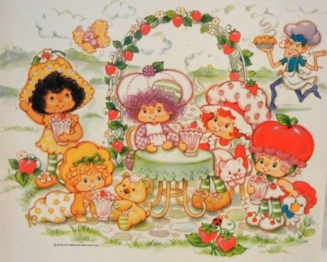 strawberry shortcake images clipart   Strawberry Shortcake Clip Art - Orange Blossom @ Toy-Addict.com