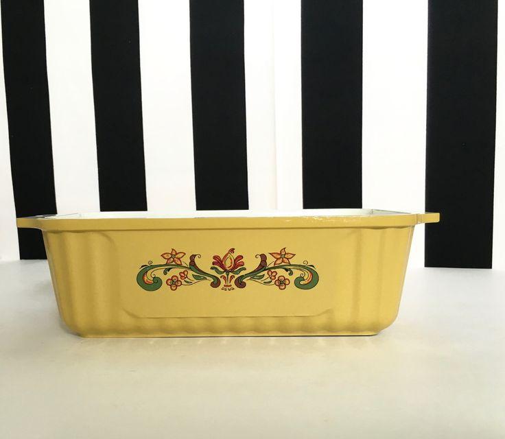 Vintage Harvest Gold Nordic Ware Bread Pan by LemonlyPink on Etsy