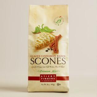 Sticky Fingers Bakeries Vanilla Cinn-Raisin Scone,