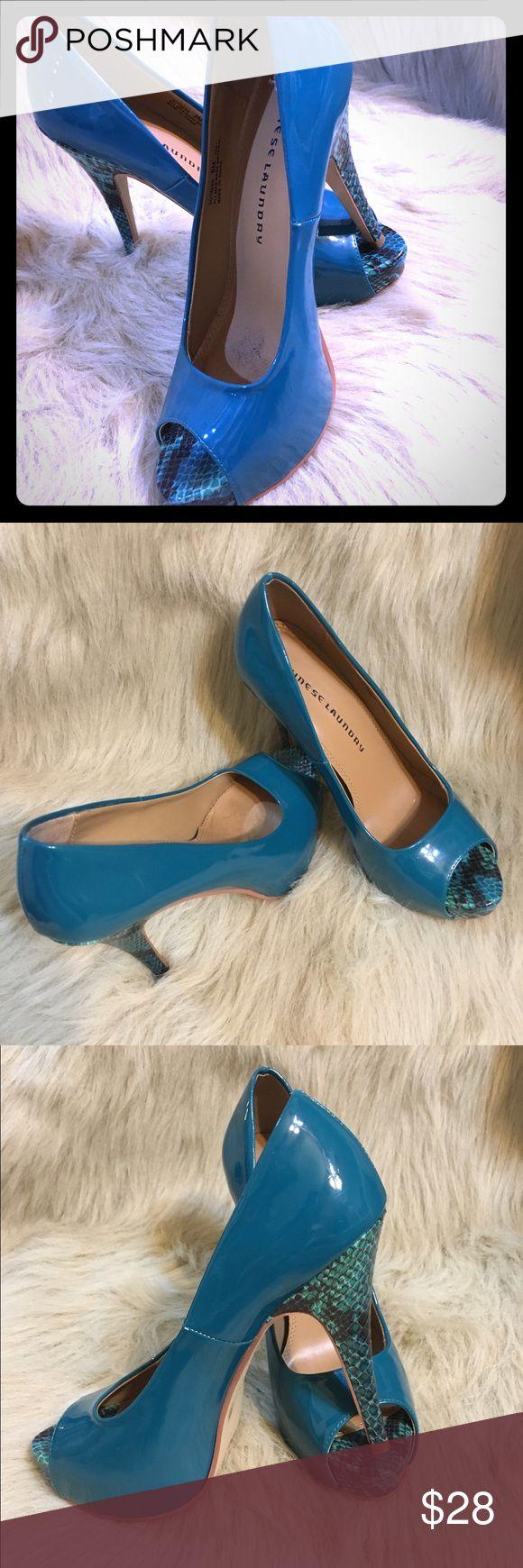 chinese laundry  heels chinese laundry Beautiful turquoise  heels shoes chinese laundry  Shoes Heels