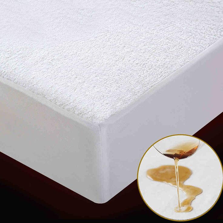 Terry Waterproof Size 160X200cm Bed Waterproof Cover Mattress Protector Cover for Bed Wetting and Bed Bug Suit for Russian Size