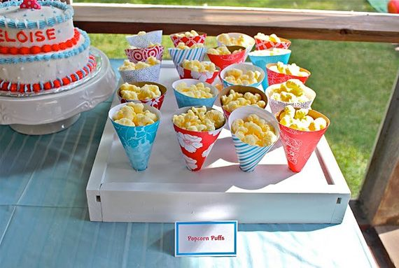 Treat cone box party kids party ideas popcorn party favors party decorations party fun party idea pictures treat cone box