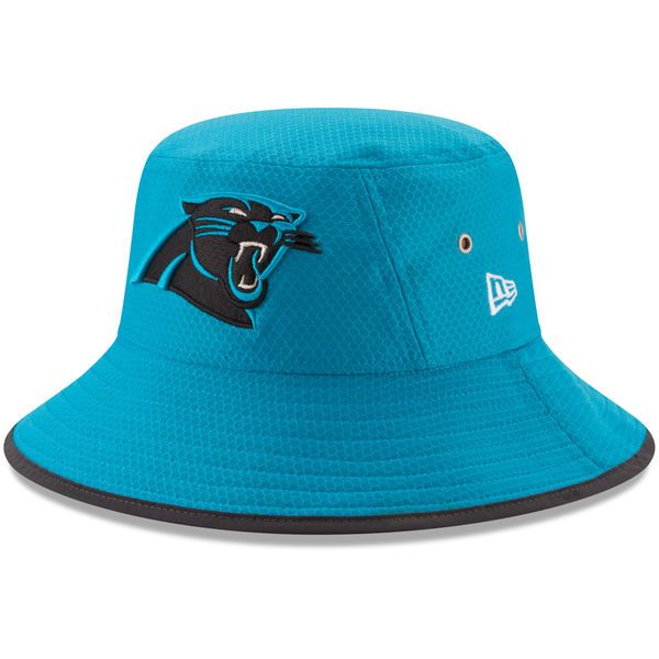 Carolina Panthers New Era Youth 2017 Training Camp Official Bucket Hat - Blue - $29.99