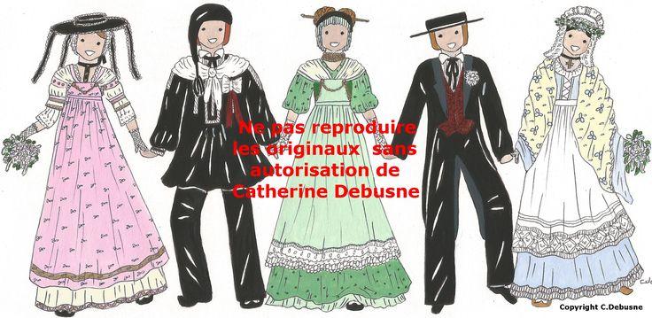 Costumes de mariage Comtois