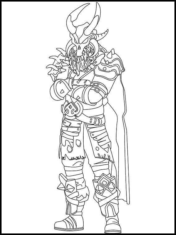 fortnite 23 printable coloring pages for kids  coloring