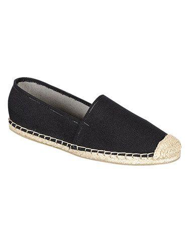 Loving this Black Elsa Slip-On Shoe on #zulily! #zulilyfinds