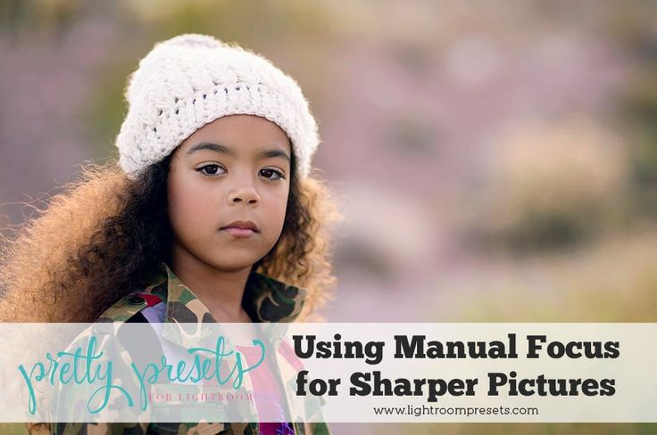 Using Manual Focus for Sharper Images Many factors go into getting sharp, focused pictures. Sometimes switching to manual focus helps you get the focus exactly where you want it.