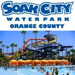 Knott's Soak City Water Park Two Admission E-Tickets