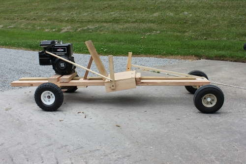 Homemake Wooden GoKart 2.0 this instructable got me thinking about making a go kart out of a pallet, pallet grand prix anyone?