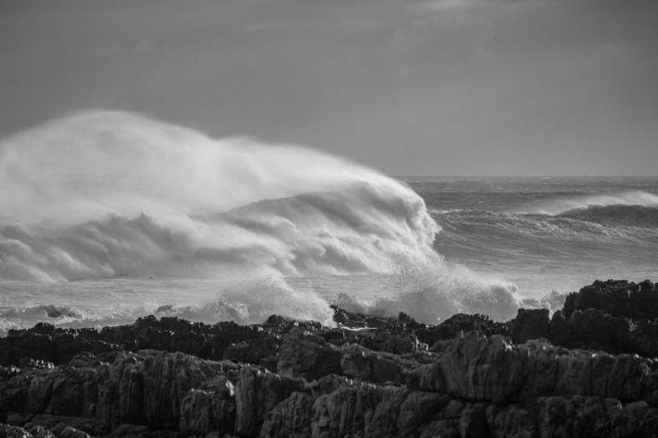 """Saatchi Art Artist johann kruger; Photography, """"Assault on The Shore"""" #art"""
