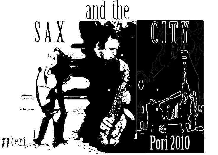 my humble contribution marketing my T-shirt and Pori Jazz Festival