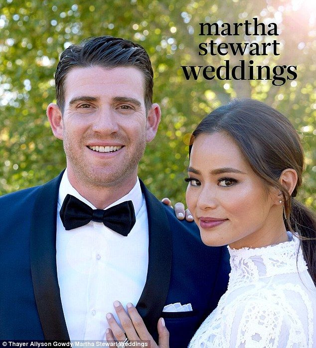 Happily ever after: Jamie Chung and Bryan Greenberg tied the knot on Halloween in Santa Ba...