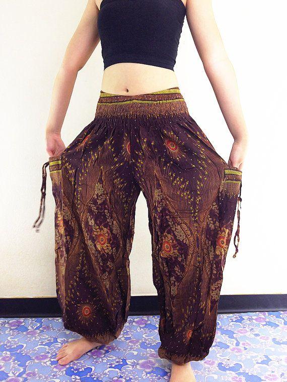 Harem broek vrouwen Yoga broek Aladdin broeken Maxi broek Boho