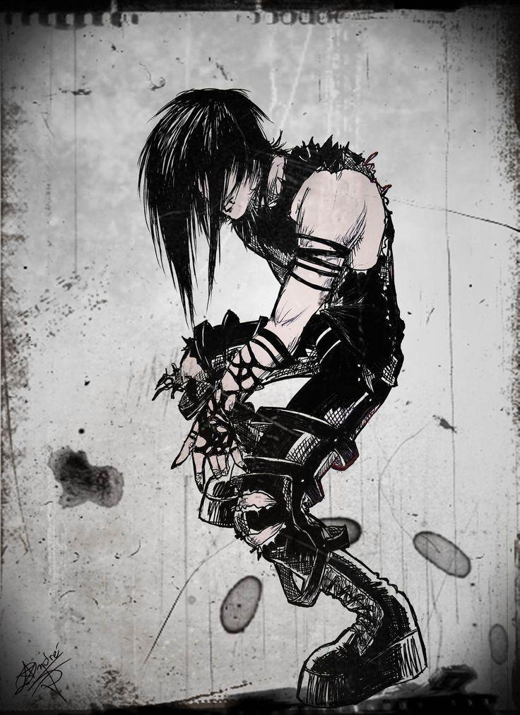 dark drawings sketches anime drawing deviantart manga sketch darkness deviant