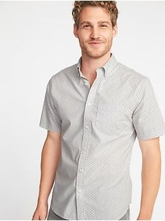 ab832f19 Slim-Fit Clean-Slate Built-In Flex Everyday Oxford Shirt for Men | Old Navy