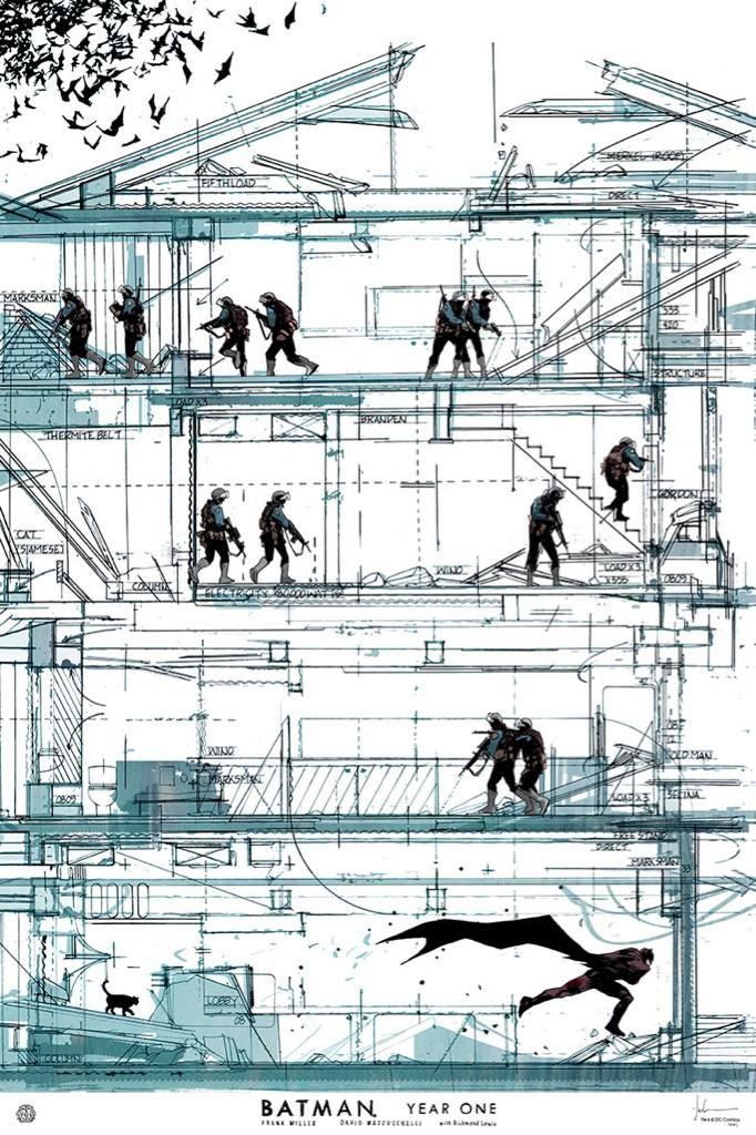 Batman: Year One cover by Jock