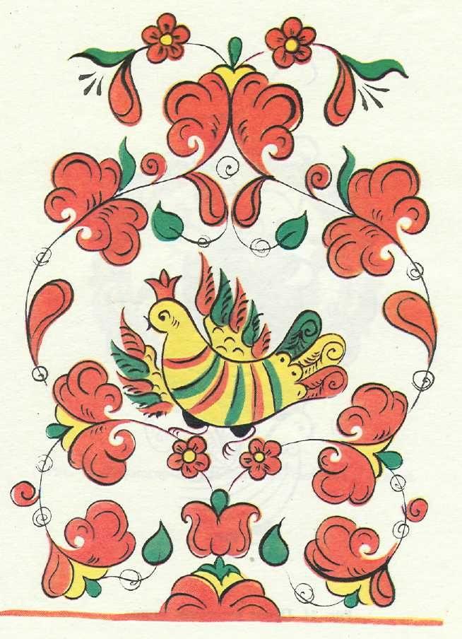 пермогорская роспись картинки эскизы хаски действительно могут