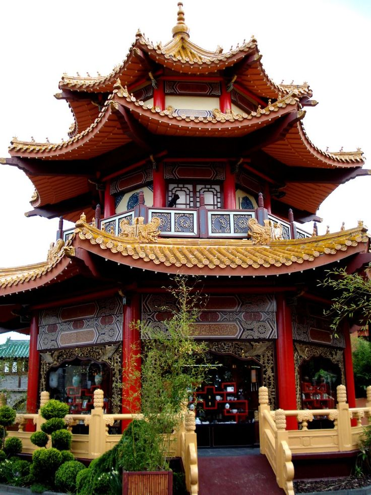 beautiful authentical chinese building