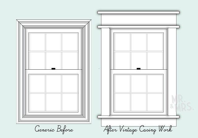Exterior Window Styles alfa img - showing > craftsman style window trim examples | linda