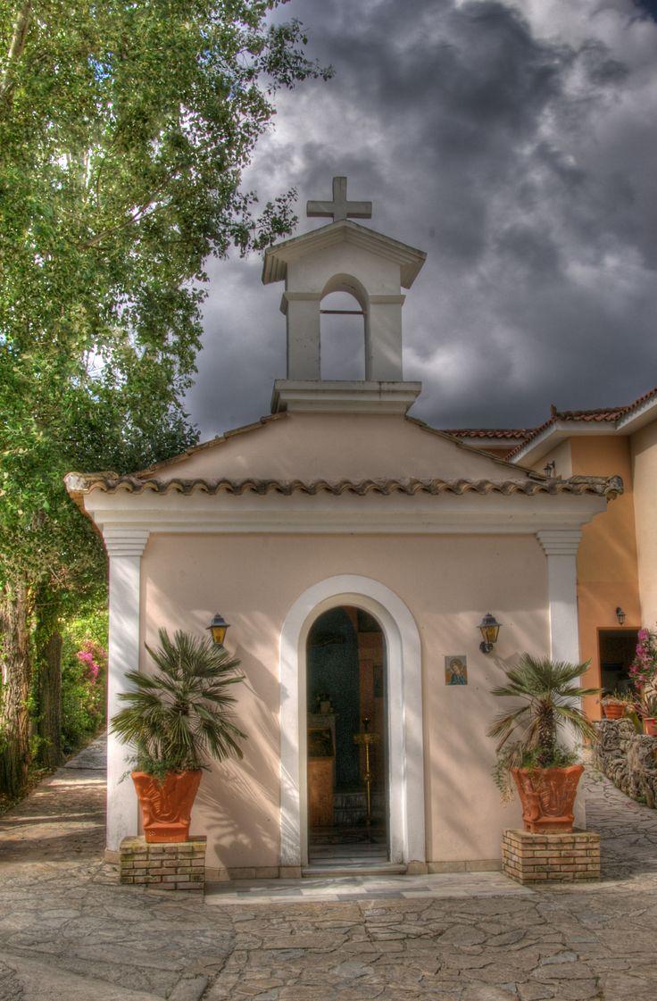 Small church in Tsilivi, Zakynthos, Greece
