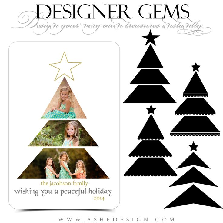 67 best Holiday Photoshop Templates images on Pinterest Christmas