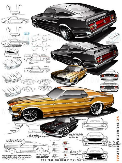 Mustang Details by Studio PCK, via Flickr