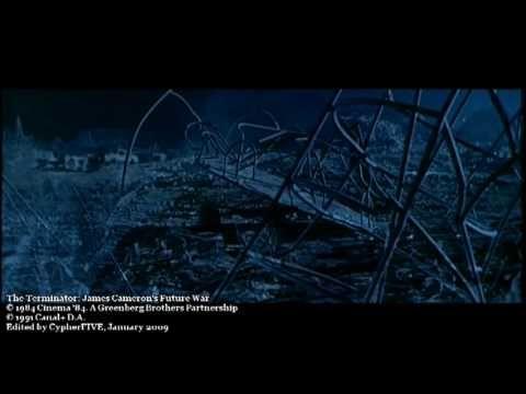 "The Terminator: James Cameron's Future War música: ""Main Title (Terminator 2 Theme)"", de Brad Fiedel (Años 80)"