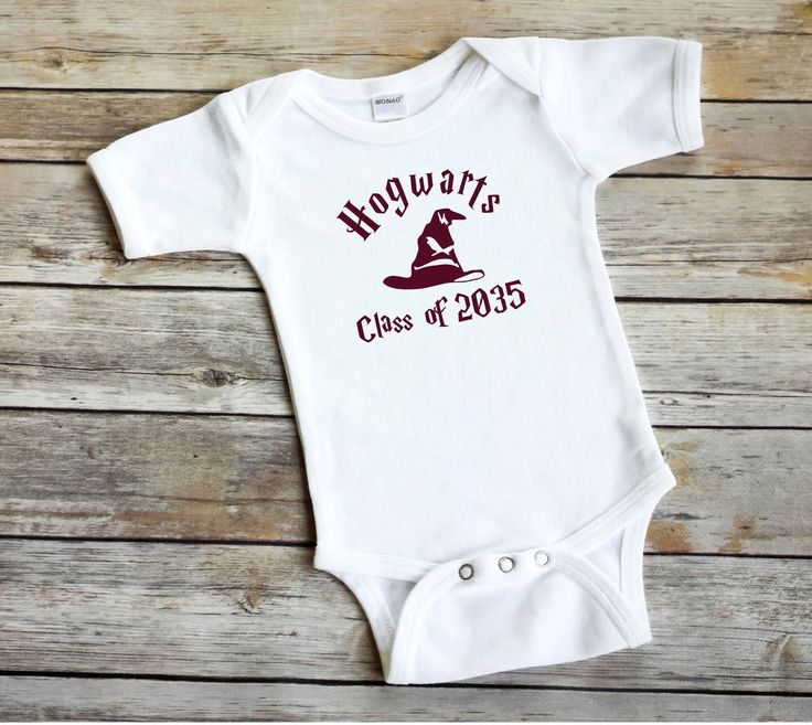 e2821fb16 Forget HARVARD Im going to Hogwarts Funny Harry Potter Baby Wizard Onesie  by BeeGeeTees /(