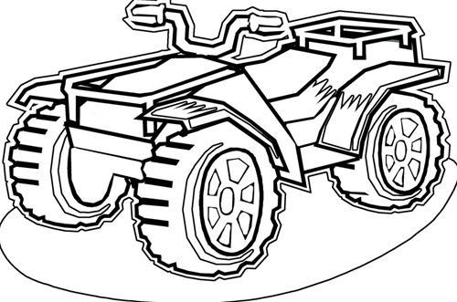 4 Wheeler Color Page Super Coloring Pages Coloring Pages Colouring Pages