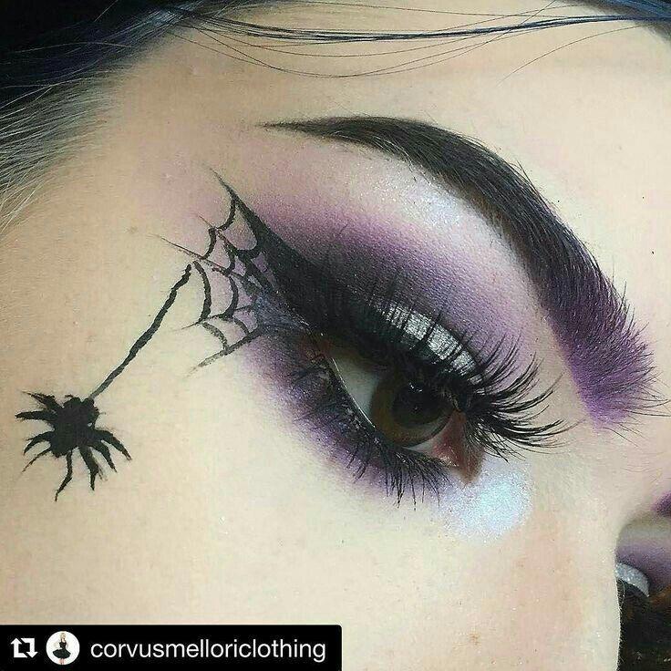Gothic Eye Makeup.