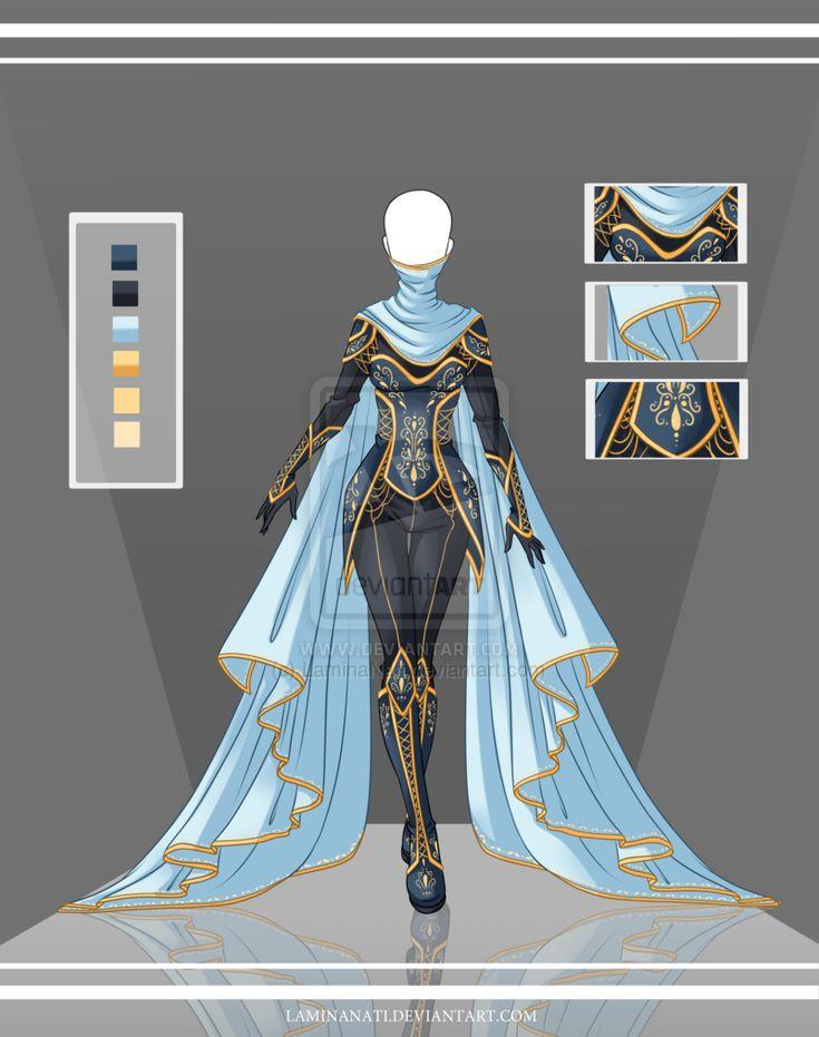 Agrippine, obsession: femme d'affaire, fatale, c'est elle qui mène. Ressemblance avec la robe de la vraie. / Adoptable Outfit Auction 36(closed) by LaminaNati.deviantart.com on @DeviantArt