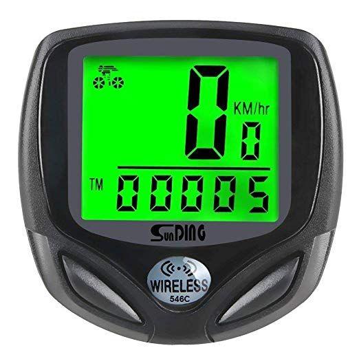 Bike Computer Speedometer Wireless Waterproof Bicycle Odometer