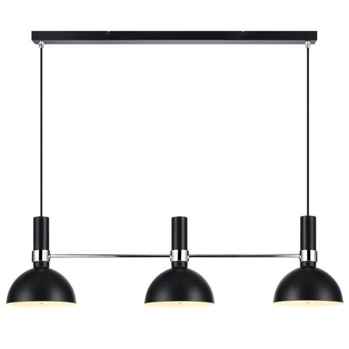 Larry 3 Light Bar Ceiling Pendant Black Bar Ceilings Bar Lighting Pendant Light