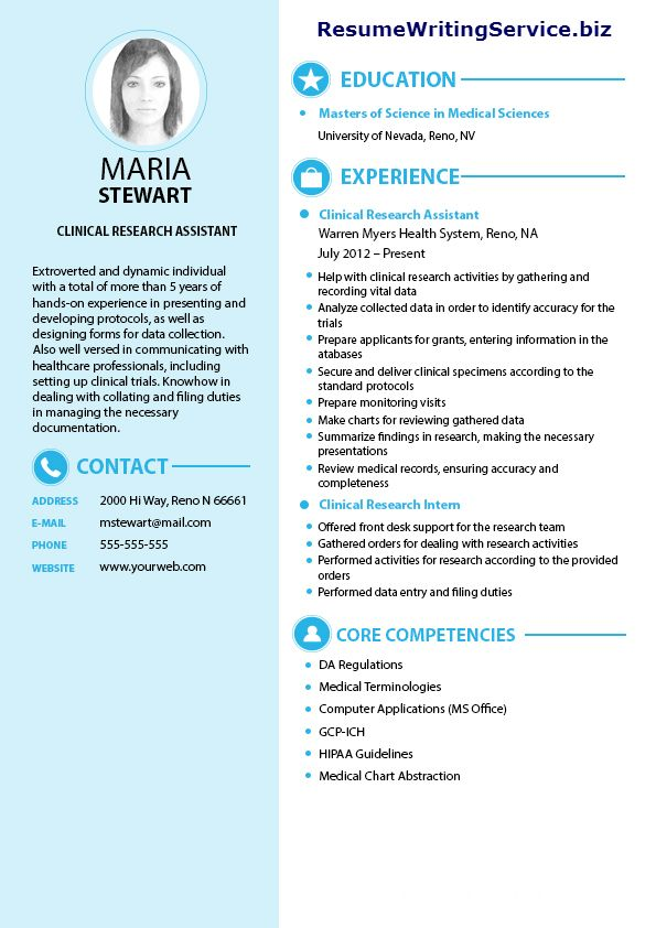 Clinical Research Assistant Resume Sample Research Assistant Clinical Research Medical Assistant Resume
