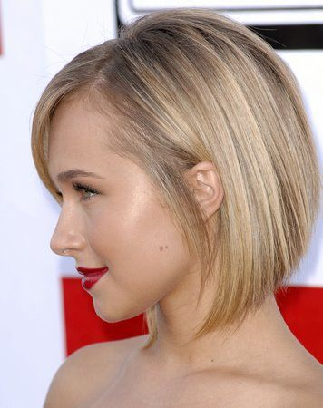 haircuts for thin fine hair pictures day into styles for hayden panettiere august 2008 4892 | b3223bc30144e9430da34e02a81f8a96 inverted bob hairstyles medium bob hairstyles