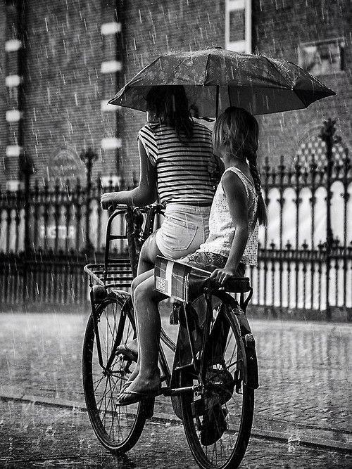 Amsterdam on a rainy Summer day.