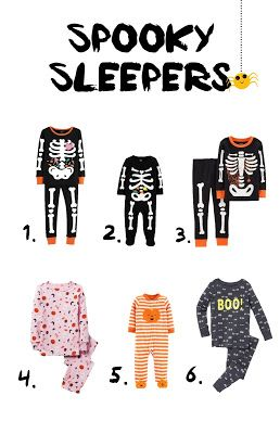 5926f4c88 Favorite Halloween jammies for babies and kids! #halloweenpajamas  #halloweenstyle