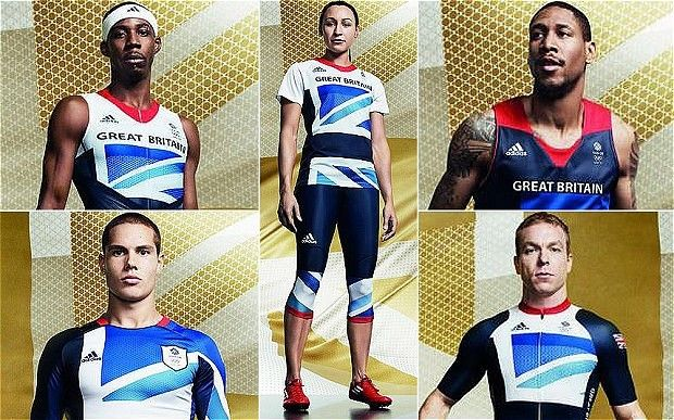 Team GB kit for London 2012 Olympics designed by Stella McCartney & adidas. Add Around The Rings on www.Twitter.com/AroundTheRings & www.Facebook.com/AroundTheRings for the latest info on the Olympics.
