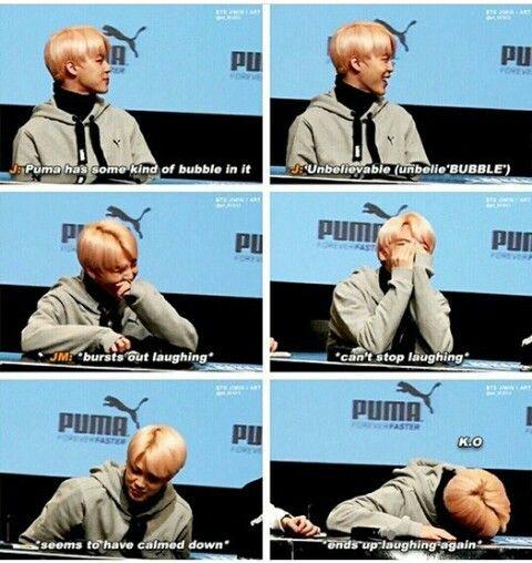 Jin's dad jokes strikes again