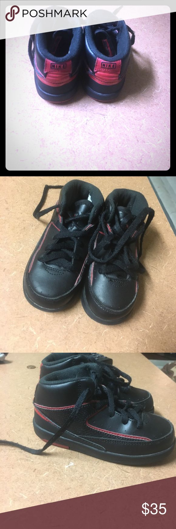 Boy toddler Jordans Used Jordan shoes, worn a few times but barely noticeable Jordan Shoes Sneakers