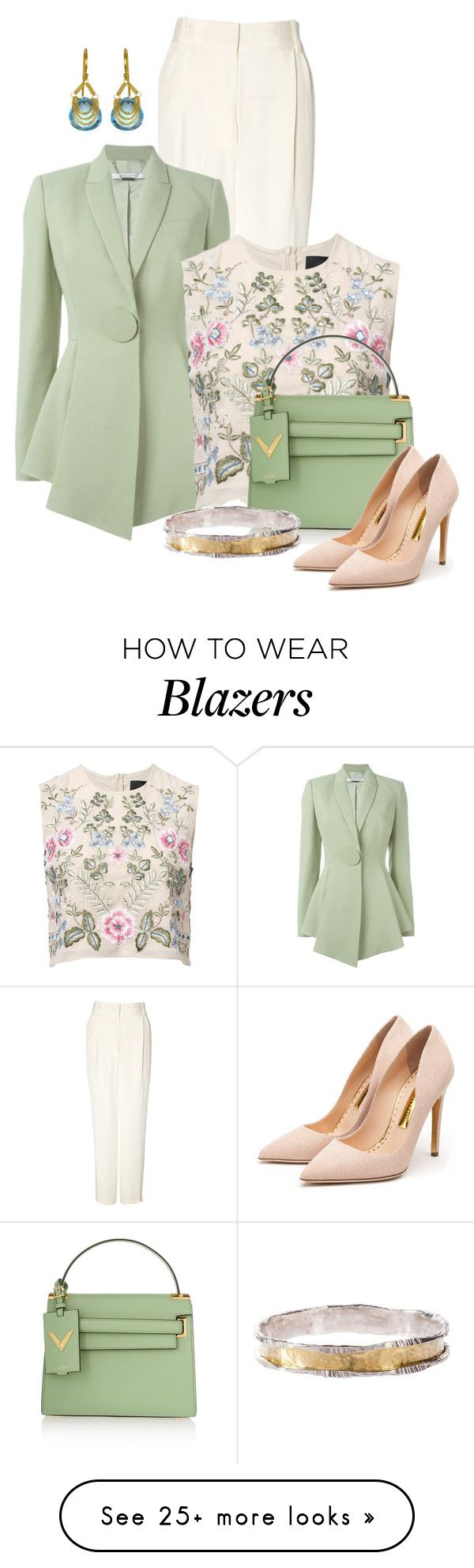 """Untitled #2078"" by anfernee-131 on Polyvore featuring 3.1 Phillip Lim, Givenchy, Needle & Thread, Valentino and Rupert Sanderson"