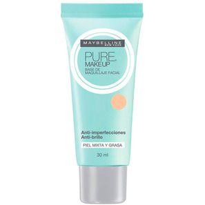 Maybelline Pure Makeup - Base Líquida 30ml