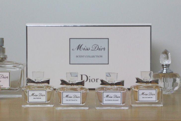 Miss Dior: uma mini coleção de perfumes!